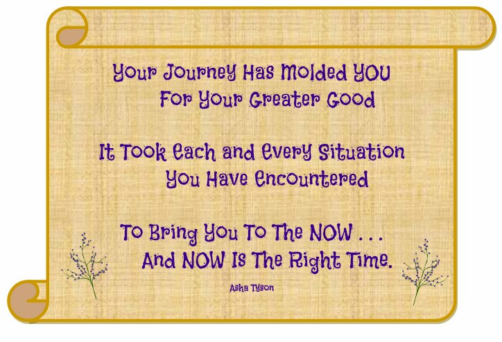 Your Journey - Now Is The Time